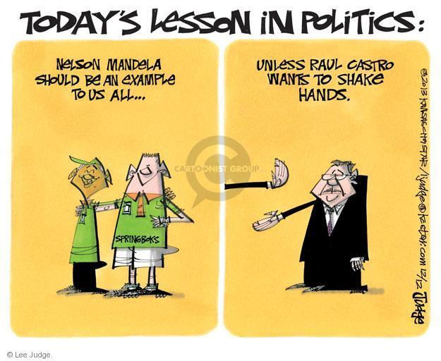Lee Judge  Lee Judge's Editorial Cartoons 2013-12-12 states rights