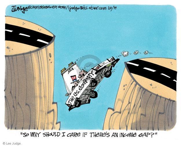 Lee Judge  Lee Judge's Editorial Cartoons 2013-12-19 income inequality
