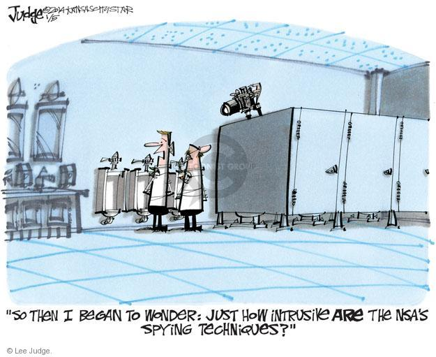 Lee Judge  Lee Judge's Editorial Cartoons 2014-01-05 privacy