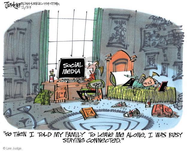 Cartoonist Lee Judge  Lee Judge's Editorial Cartoons 2014-01-19 family