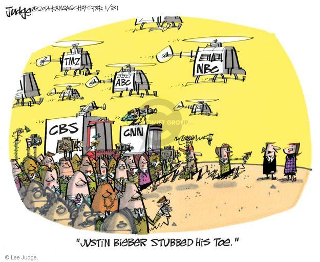 Lee Judge  Lee Judge's Editorial Cartoons 2014-01-31 CBS