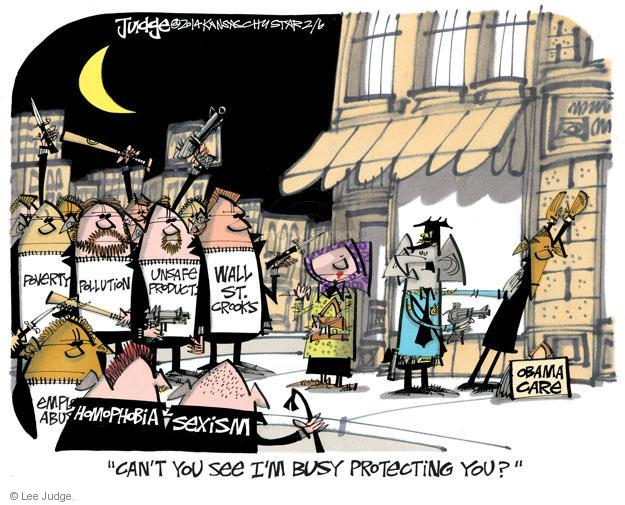 Cartoonist Lee Judge  Lee Judge's Editorial Cartoons 2014-02-06 wall