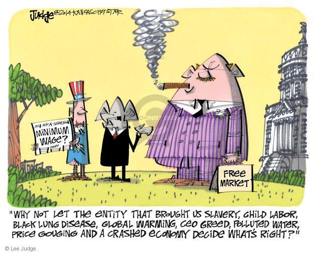 Lee Judge  Lee Judge's Editorial Cartoons 2014-02-23 economy