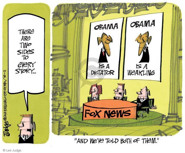 Lee Judge  Lee Judge's Editorial Cartoons 2014-03-11 media criticism