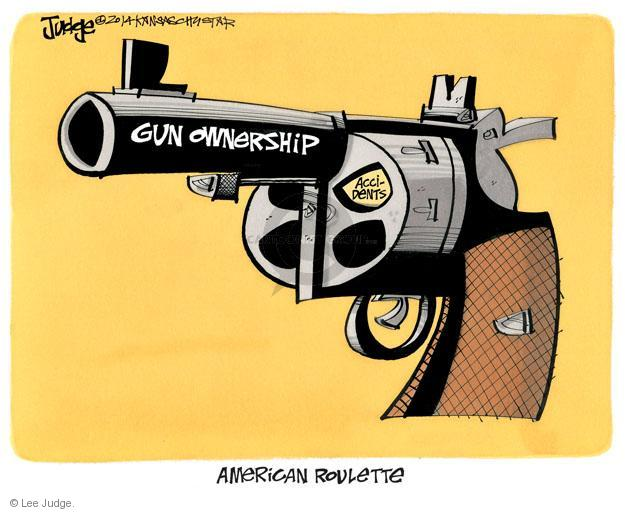 Lee Judge  Lee Judge's Editorial Cartoons 2014-03-25 weaponry