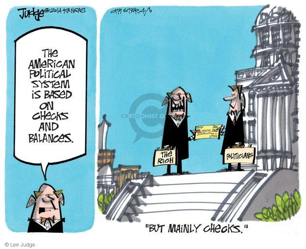 Lee Judge  Lee Judge's Editorial Cartoons 2014-04-06 money