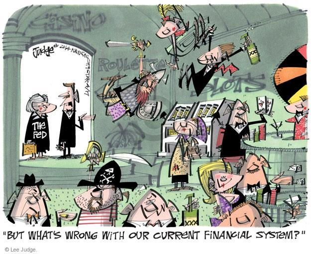 Lee Judge  Lee Judge's Editorial Cartoons 2014-04-17 economy