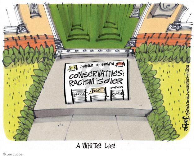 Lee Judge  Lee Judge's Editorial Cartoons 2014-05-02 racism
