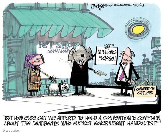 Cartoonist Lee Judge  Lee Judge's Editorial Cartoons 2014-06-08 contribution