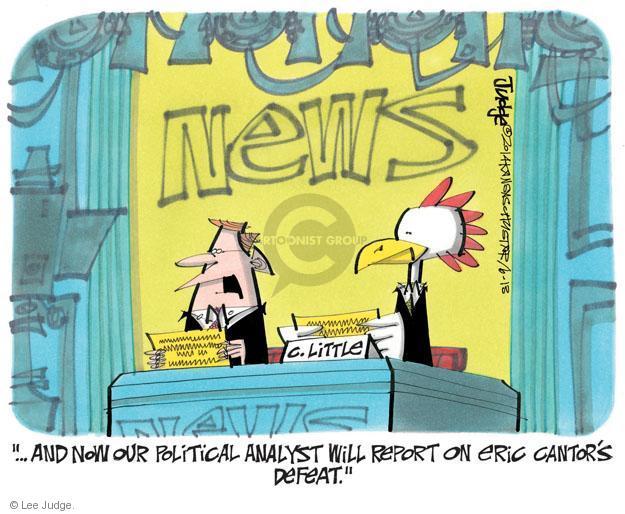 Lee Judge  Lee Judge's Editorial Cartoons 2014-06-13 journalism