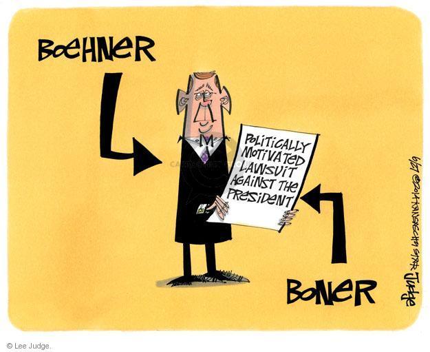 Lee Judge  Lee Judge's Editorial Cartoons 2014-06-27 Speaker of the House