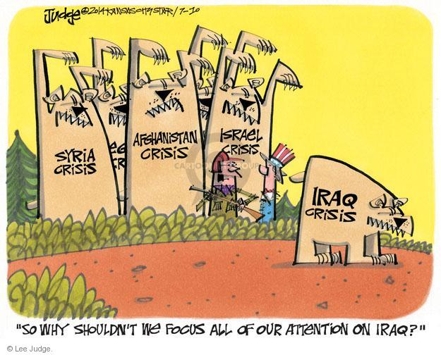 Lee Judge  Lee Judge's Editorial Cartoons 2014-07-10 unrest