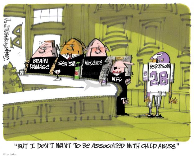 Cartoonist Lee Judge  Lee Judge's Editorial Cartoons 2014-09-21 charge