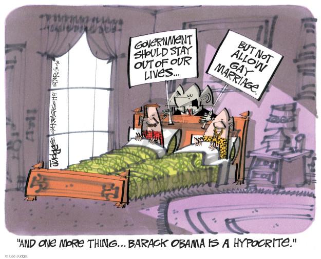 Cartoonist Lee Judge  Lee Judge's Editorial Cartoons 2014-10-10 conservatism