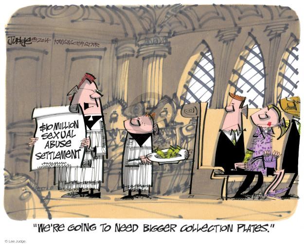 Lee Judge  Lee Judge's Editorial Cartoons 2014-10-22 $10