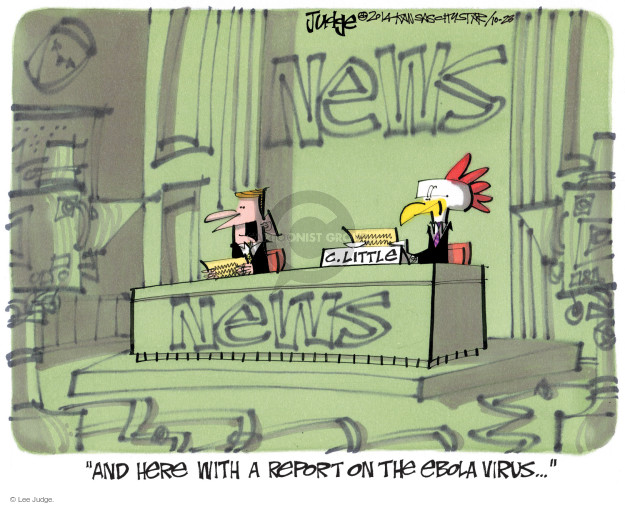Lee Judge  Lee Judge's Editorial Cartoons 2014-10-23 journalism