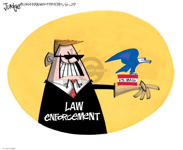 Lee Judge  Lee Judge's Editorial Cartoons 2014-10-29 inspection