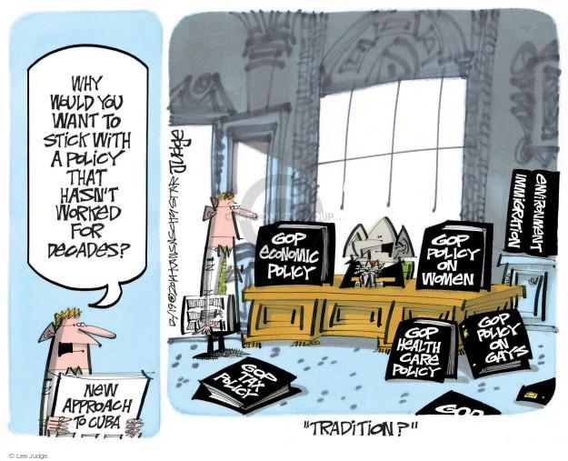 Cartoonist Lee Judge  Lee Judge's Editorial Cartoons 2014-12-19 tax