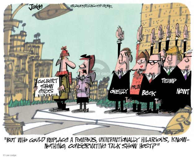 Cartoonist Lee Judge  Lee Judge's Editorial Cartoons 2014-12-21 conservatism