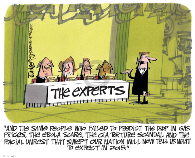 Cartoonist Lee Judge  Lee Judge's Editorial Cartoons 2015-01-03 CIA