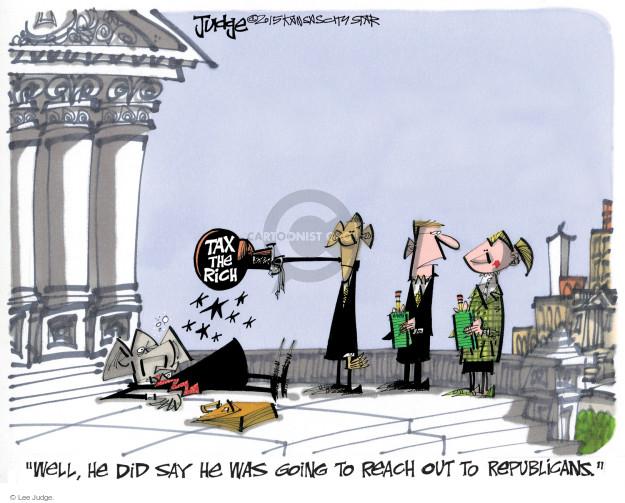 Cartoonist Lee Judge  Lee Judge's Editorial Cartoons 2015-01-20 tax