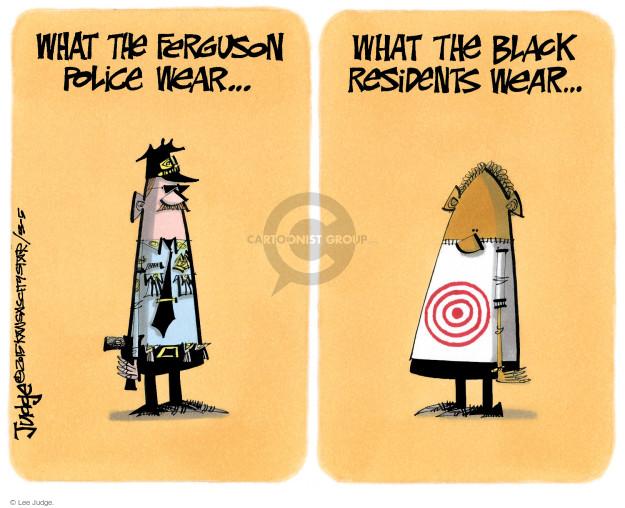 Cartoonist Lee Judge  Lee Judge's Editorial Cartoons 2015-03-05 justice