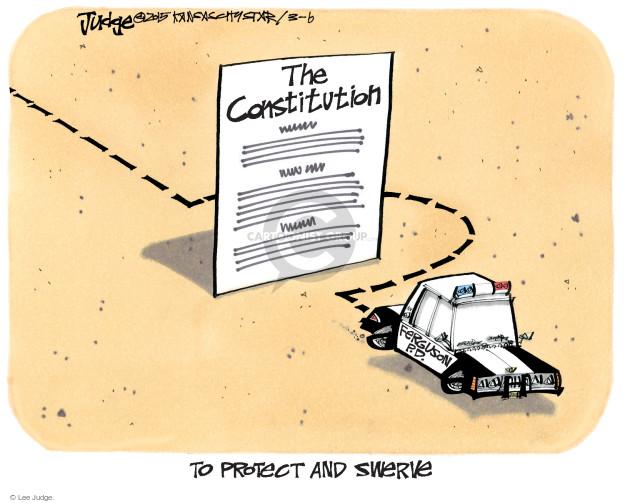 Cartoonist Lee Judge  Lee Judge's Editorial Cartoons 2015-03-06 justice