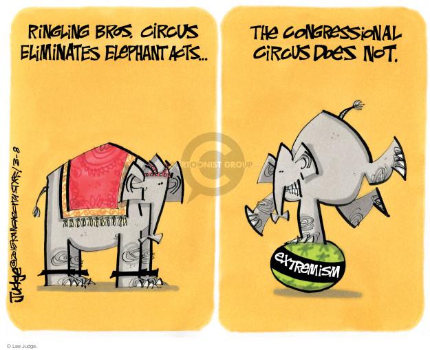 Cartoonist Lee Judge  Lee Judge's Editorial Cartoons 2015-03-08 party
