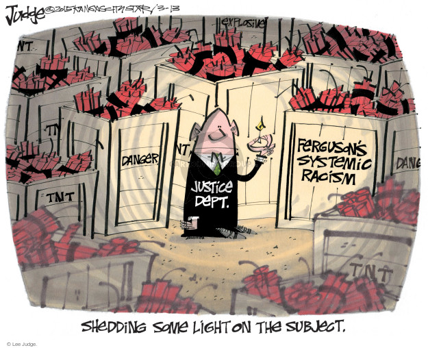 Lee Judge  Lee Judge's Editorial Cartoons 2015-03-13 justice