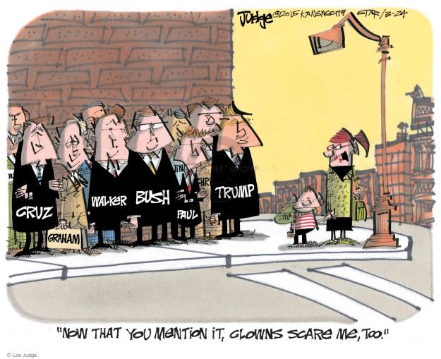Lee Judge  Lee Judge's Editorial Cartoons 2015-03-24 2016 election Rand Paul