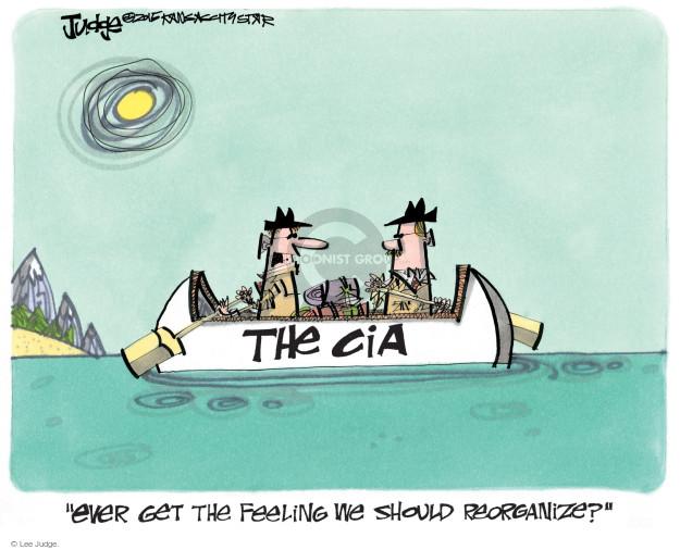 Cartoonist Lee Judge  Lee Judge's Editorial Cartoons 2015-03-10 CIA