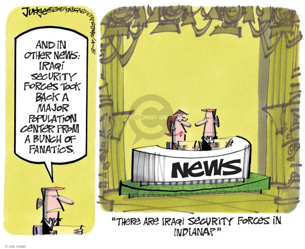 Lee Judge  Lee Judge's Editorial Cartoons 2015-04-05 force