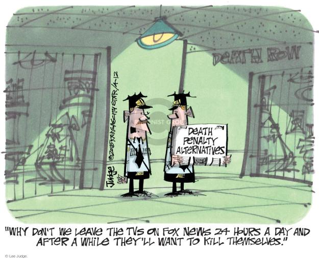 Lee Judge  Lee Judge's Editorial Cartoons 2015-04-12 24 hours