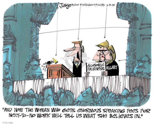 Lee Judge  Lee Judge's Editorial Cartoons 2015-04-15 speak