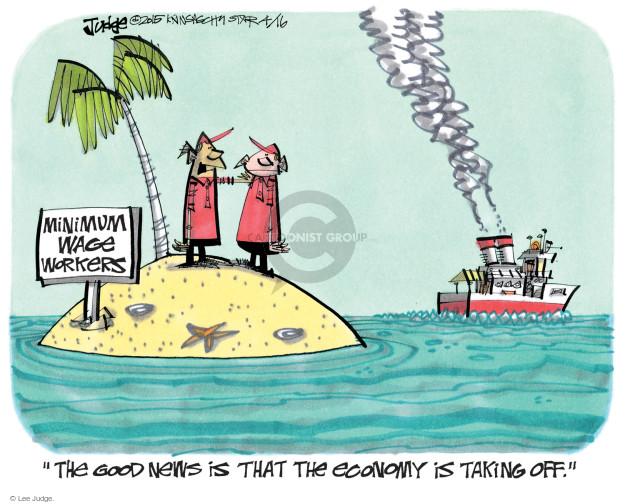 Lee Judge  Lee Judge's Editorial Cartoons 2015-04-16 economy