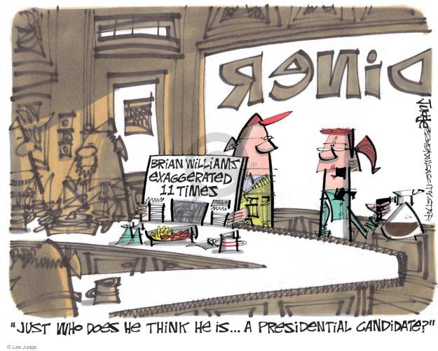 Lee Judge  Lee Judge's Editorial Cartoons 2015-04-28 journalism
