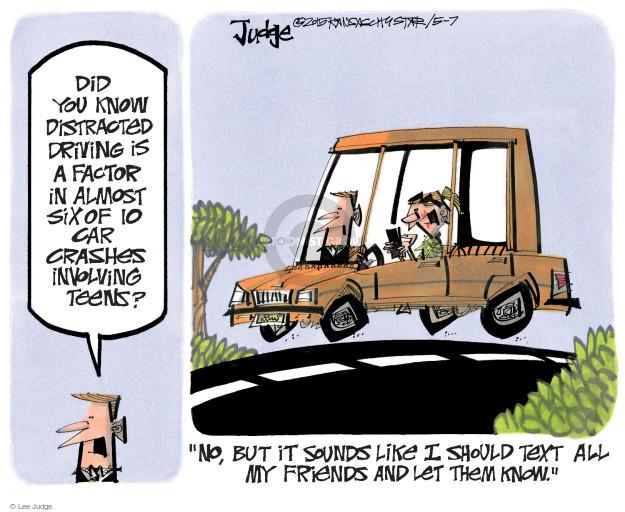 Lee Judge  Lee Judge's Editorial Cartoons 2015-05-07 distraction