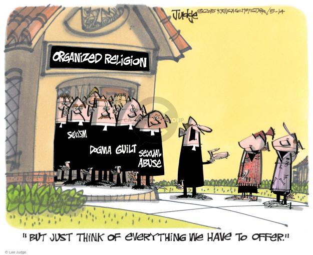 Lee Judge  Lee Judge's Editorial Cartoons 2015-05-14 affiliate