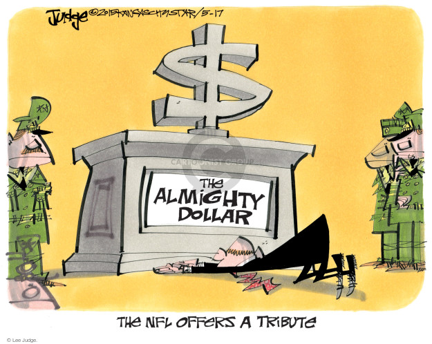 Lee Judge  Lee Judge's Editorial Cartoons 2015-05-17 money