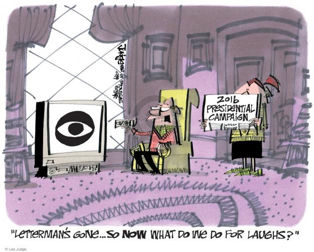 Cartoonist Lee Judge  Lee Judge's Editorial Cartoons 2015-05-28 talk