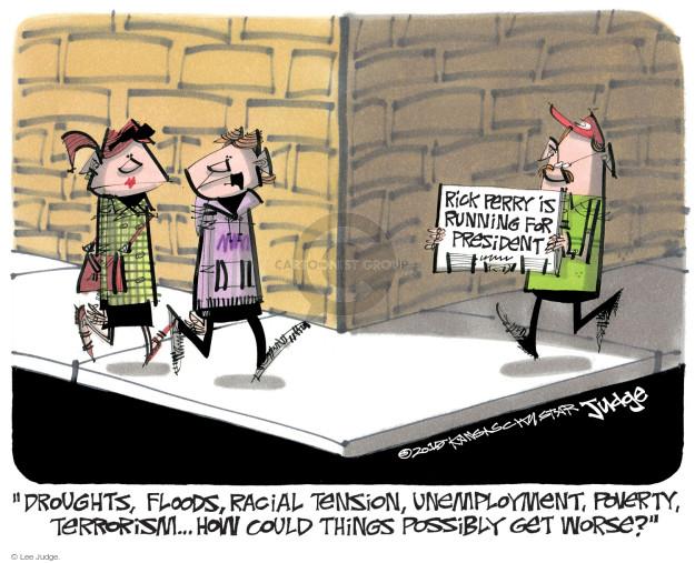 Lee Judge  Lee Judge's Editorial Cartoons 2015-06-09 racism