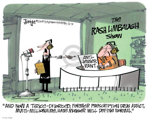 Cartoonist Lee Judge  Lee Judge's Editorial Cartoons 2015-06-10 talk