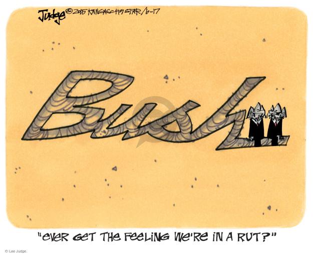 Cartoonist Lee Judge  Lee Judge's Editorial Cartoons 2015-06-17 family