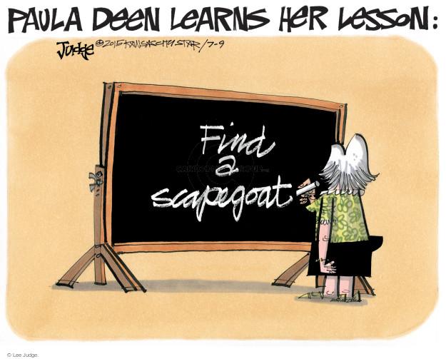 Lee Judge  Lee Judge's Editorial Cartoons 2015-07-09 media