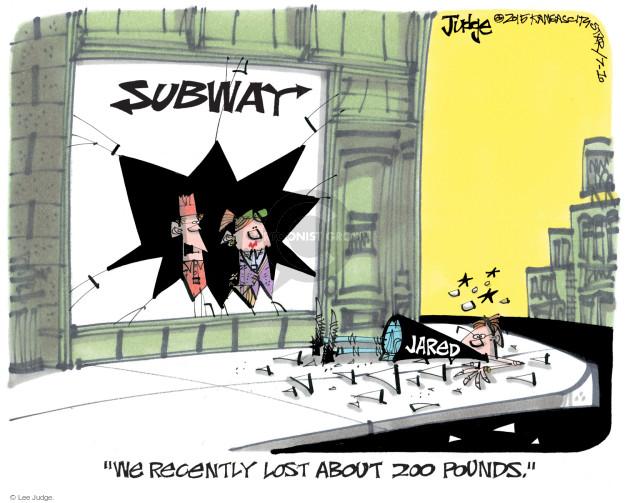 Cartoonist Lee Judge  Lee Judge's Editorial Cartoons 2015-07-10 charge