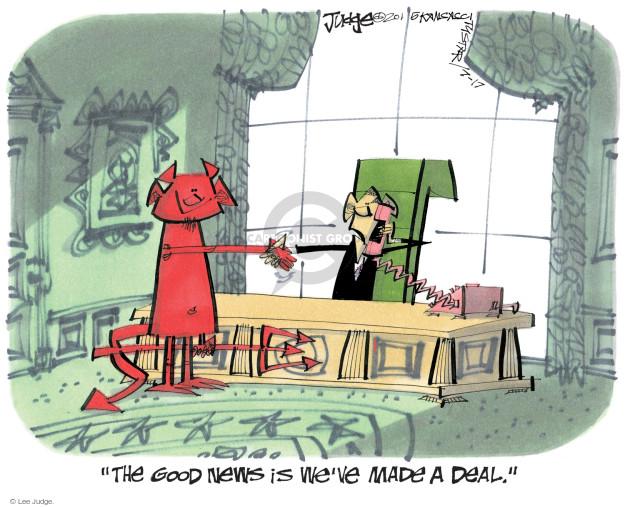 Lee Judge  Lee Judge's Editorial Cartoons 2015-07-17 diplomacy