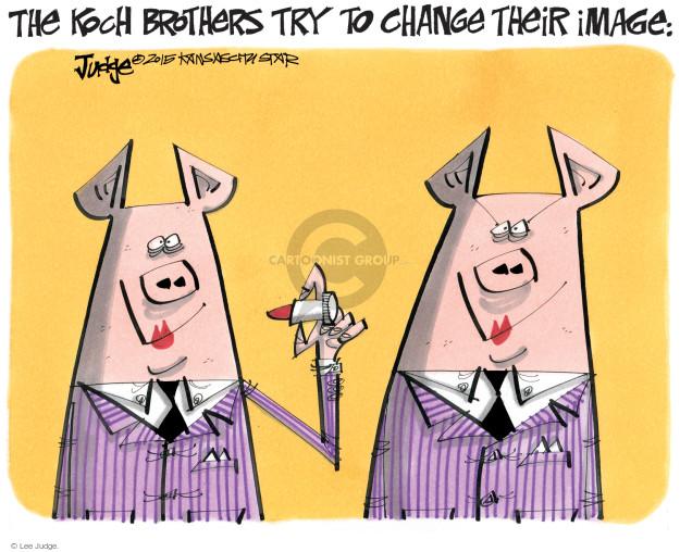 Cartoonist Lee Judge  Lee Judge's Editorial Cartoons 2015-08-07 conservative
