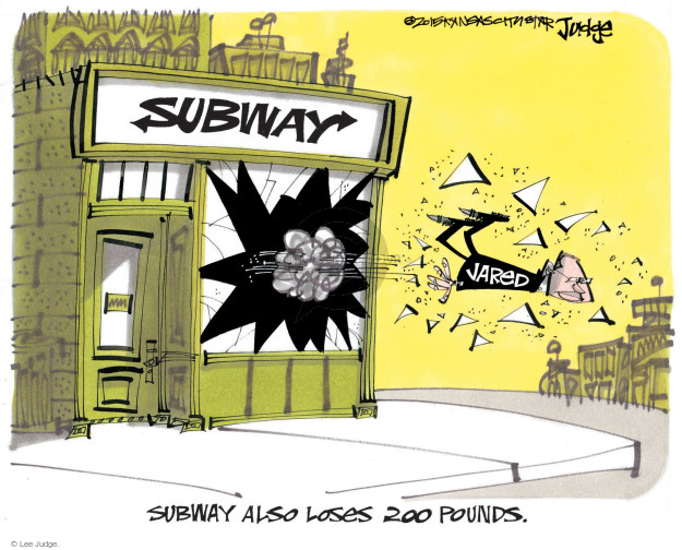 Cartoonist Lee Judge  Lee Judge's Editorial Cartoons 2015-08-21 charge