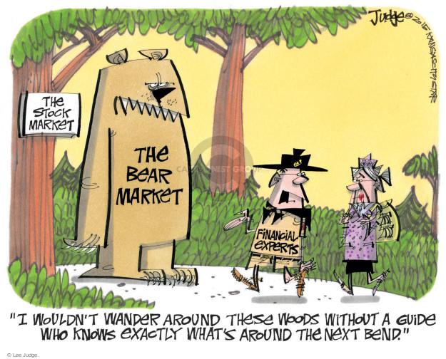 Lee Judge  Lee Judge's Editorial Cartoons 2015-09-02 stock market