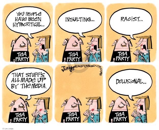 Cartoonist Lee Judge  Lee Judge's Editorial Cartoons 2015-10-07 conservatism